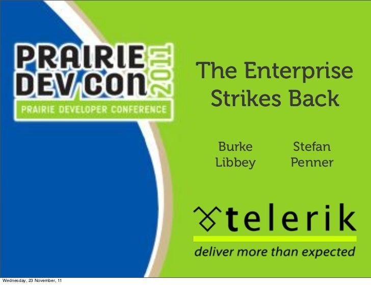 The Enterprise                              Strikes Back                              Burke    Stefan                     ...