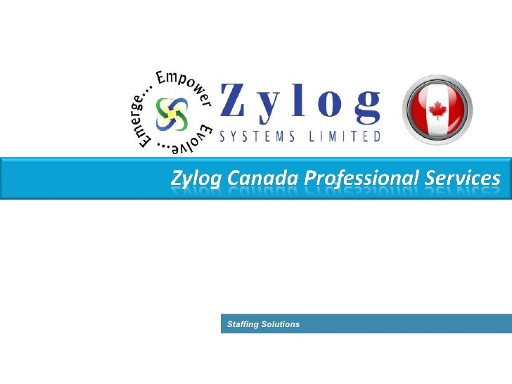 Zylog Systems (Canada) Ltd