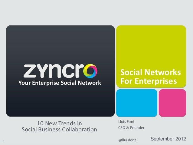Presentación de Lluis Font, CEO de Zyncro, en acens Cloudstage