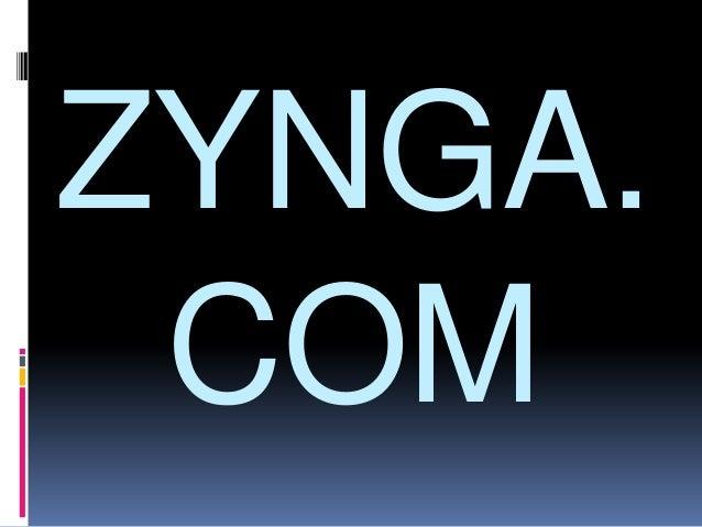 History of Zynga