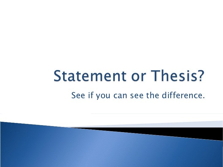 thesis statement for network marketing
