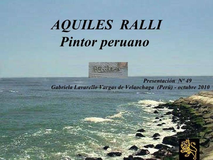 Zz 2 34 aquiles ralli   nº 49(Gaby Lavarello-2010)