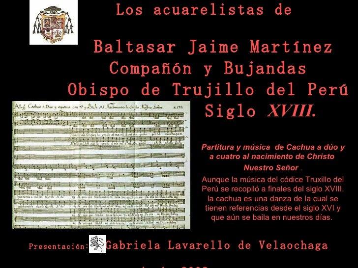Zz 2 3 Los Acuarelistas De  Martinez Compañon(Gaby Lavarello-2009)