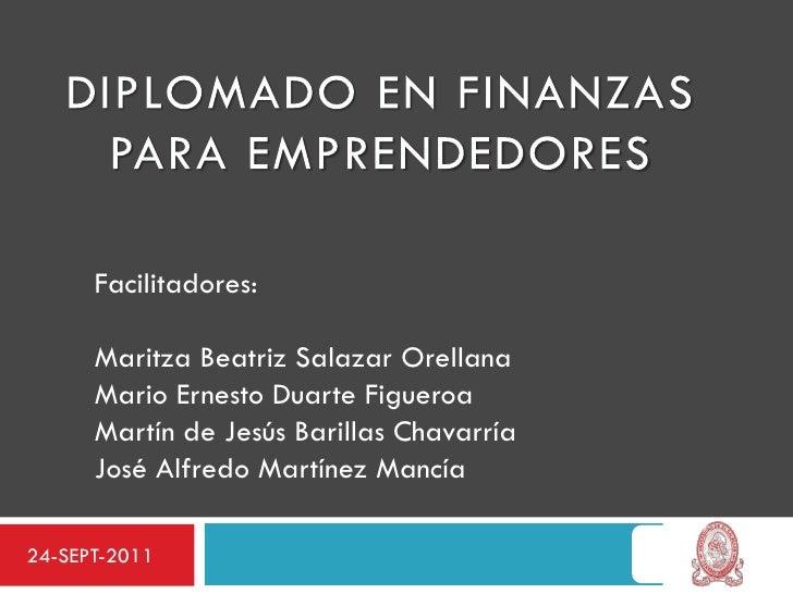 Facilitadores:      Maritza Beatriz Salazar Orellana      Mario Ernesto Duarte Figueroa      Martín de Jesús Barillas Chav...