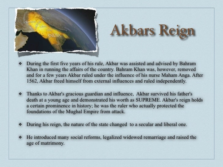 Short biography of akbar the great