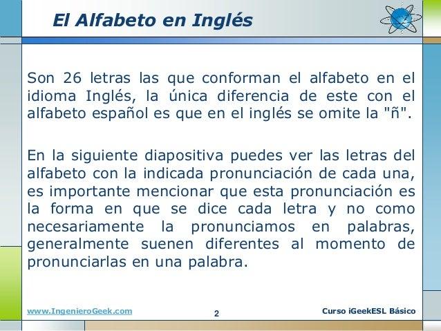 0.9 el alfabeto y los colores en el idioma inglés