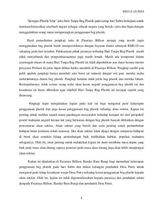 Contoh Pengenalan Objektif Kajian Lokasi Kajian Pbs Pa