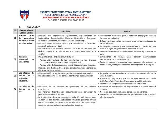Plan de trabajo - Incremento de Jornada Laboral - E. Secundaria - 2014