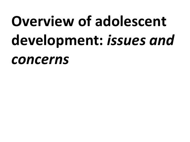 Concerns about development