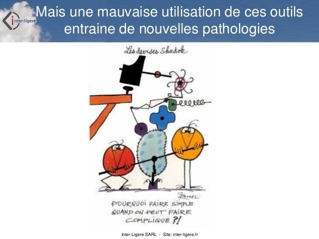 Inter-Ligere SARL - Site: inter-ligere.fr Mais une mauvaise utilisation de ces outils entraine de nouvelles pathologies