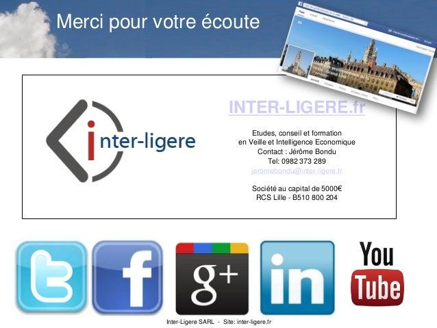 Inter-Ligere SARL - Site: inter-ligere.fr INTER-LIGERE.fr Etudes, conseil et formation en Veille et Intelligence Economiqu...