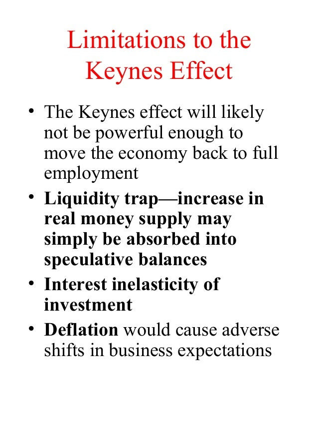 limitations of keynesian theory