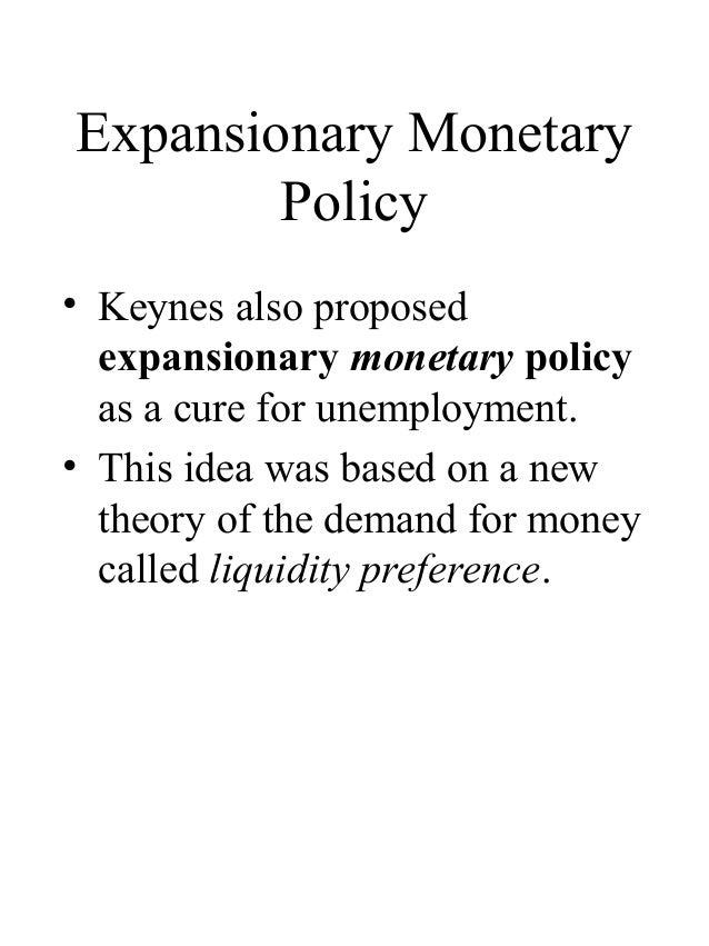 keynes liquidity preference theory pdf