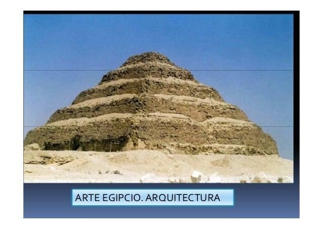 ARTE EGIPCIO. ARQUITECTURA