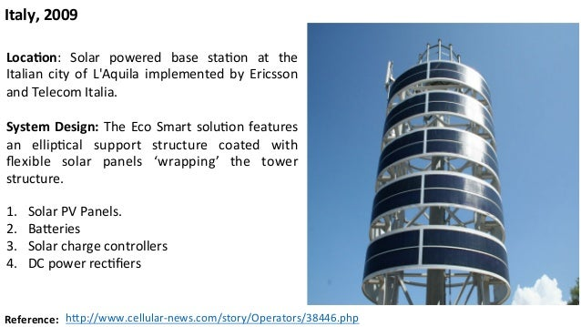 Energy Efficient Cellular Base Stations Based On The