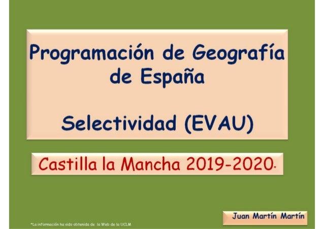Universidad de Castilla-La Mancha Evaluación para el Acceso a la Universidad (EvAU) 1 DIRECTRICES Y ORIENTACIONES GENERALE...