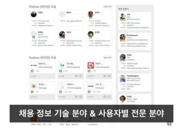 [New 로켓펀치] 사람 정보 중심 플랫폼 로켓펀치 발표