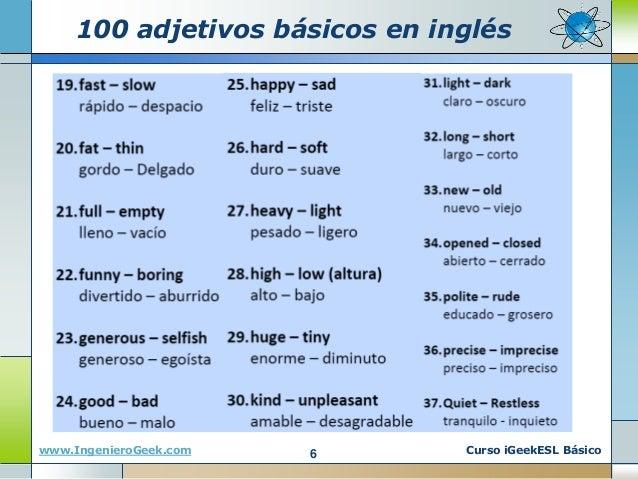 50 adjetivos en ingles yahoo dating 3