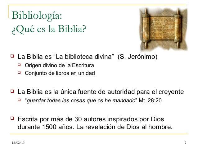 0. bibliología Slide 2