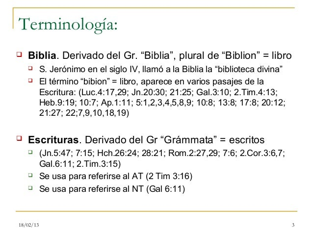 0. bibliología Slide 3