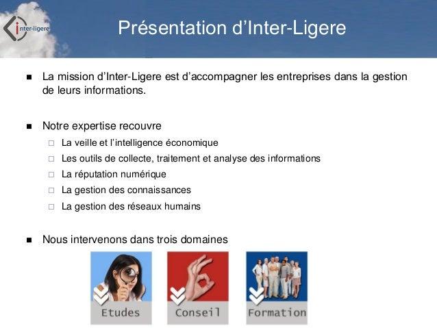 Exercices de recherche d'informations sur Internet Slide 2