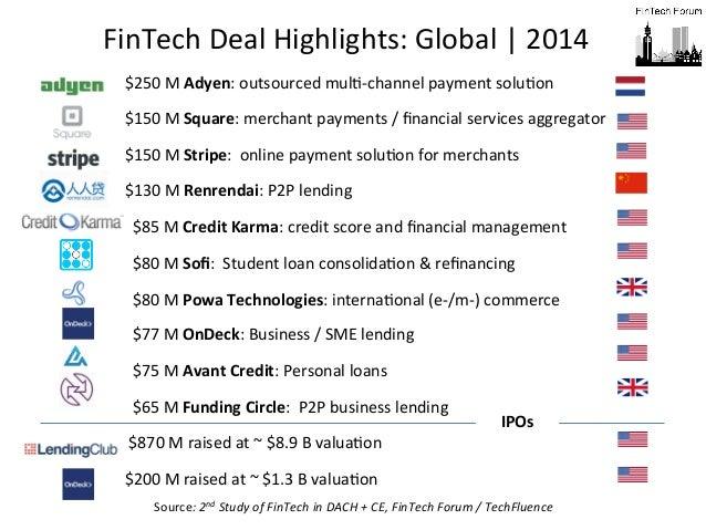 Deal Highlights: Global + Germany / Austria / Switzerland. 5th FinTec…