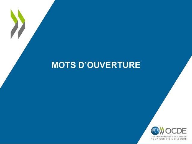 MOTS D'OUVERTURE
