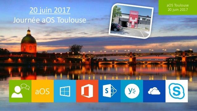 aOS Toulouse 20 juin 201720 juin 2017 Journée aOS Toulouse