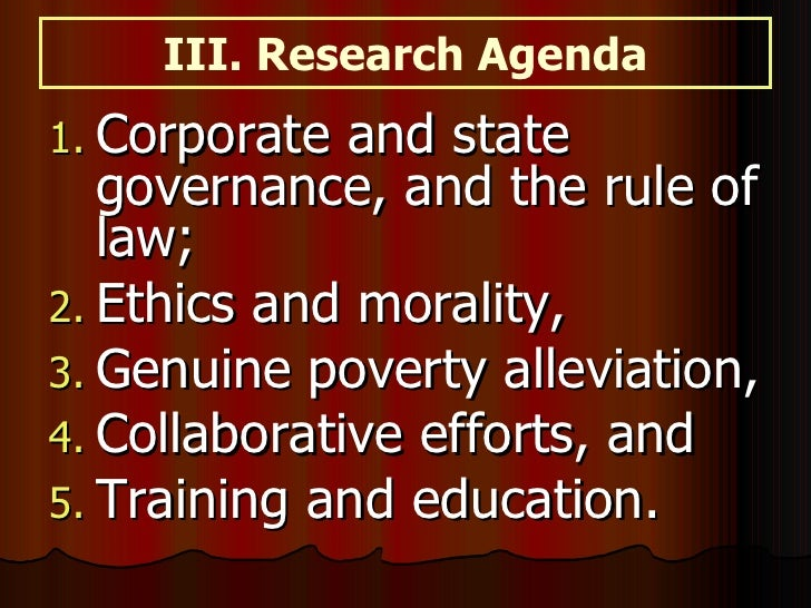 Teaching Collaborative Governance ~ Sgra ethics governance issuesinsustainability