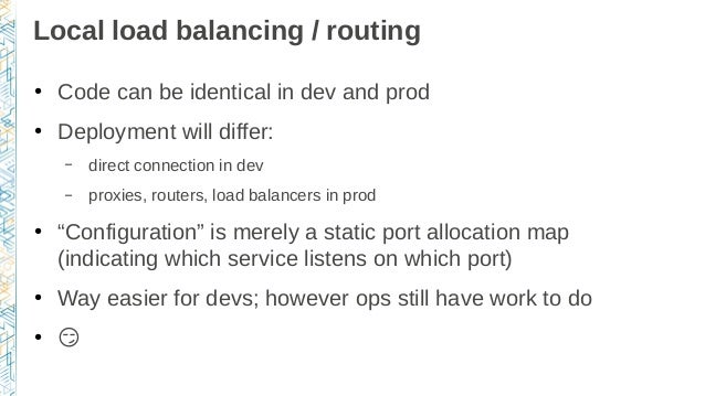 From development environments to production deployments for Consul dns load balancing
