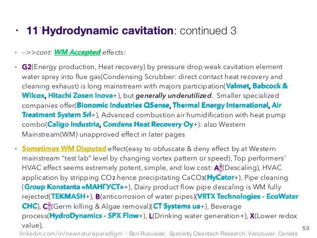 环保型 低成本 少为人知水技术的未来 Hidden Low Cost Water Cleantech