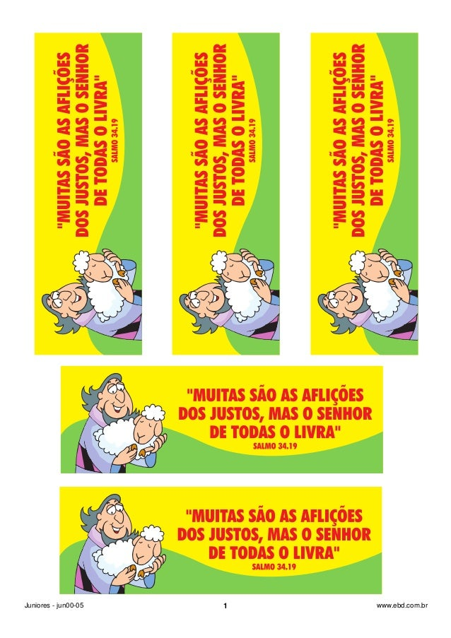 Juniores - jun00-05 1 www.ebd.com.br