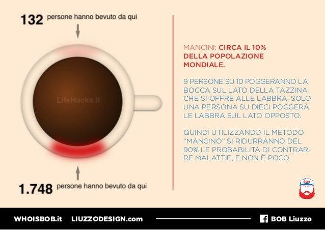 WHOISBOB.it LIUZZODESIGN.com BOB Liuzzo MANCINI: CIRCA IL 10% DELLA POPOLAZIONE MONDIALE. 9 PERSONE SU 10 POGGERANNO LA BO...