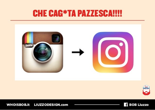 WHOISBOB.it LIUZZODESIGN.com BOB Liuzzo CHE CAG*TA PAZZESCA!!!!