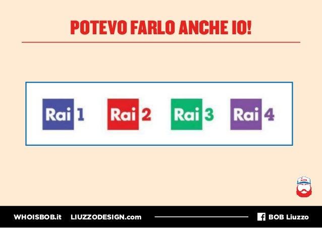 WHOISBOB.it LIUZZODESIGN.com BOB Liuzzo POTEVO FARLO ANCHE IO!