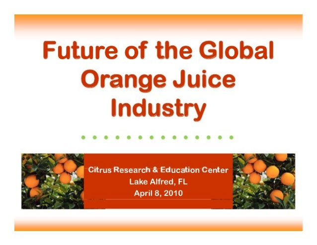 Future of Global Juice Industry