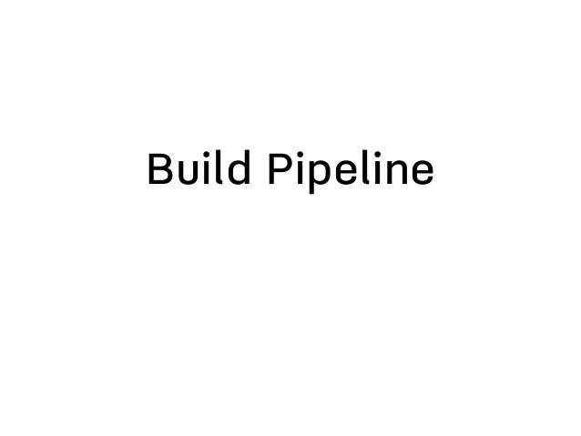 One Click Deploys • Require the Build pipelines • Reduce deployment time and risk • Make go live a non-event