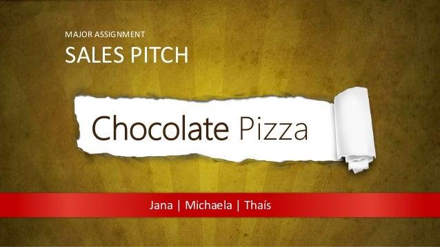 sales pitch presentation layout