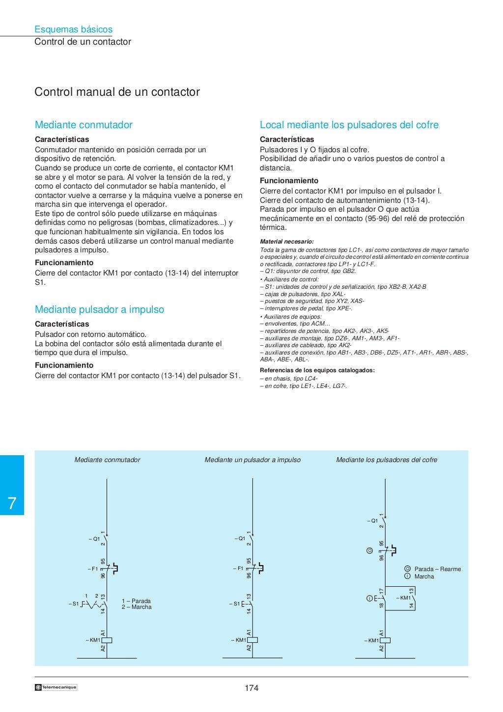Manual electrotécnico -telesquemario telemecanique page 176