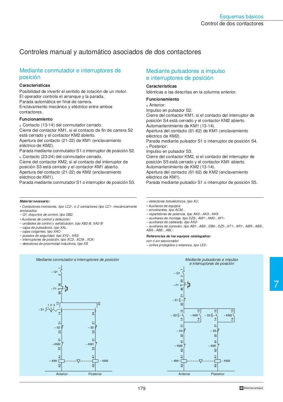 Manual electrotécnico -telesquemario telemecanique page 181