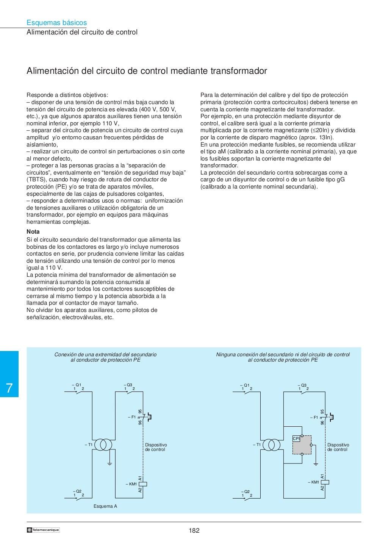 Manual electrotécnico -telesquemario telemecanique page 184
