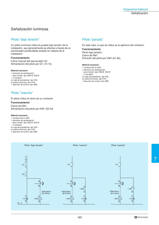 Manual electrotécnico -telesquemario telemecanique page 187