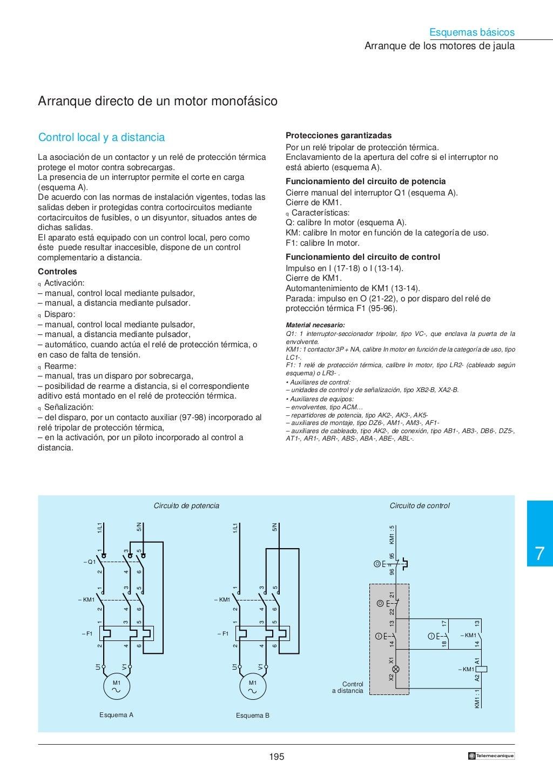 Manual electrotécnico -telesquemario telemecanique page 197