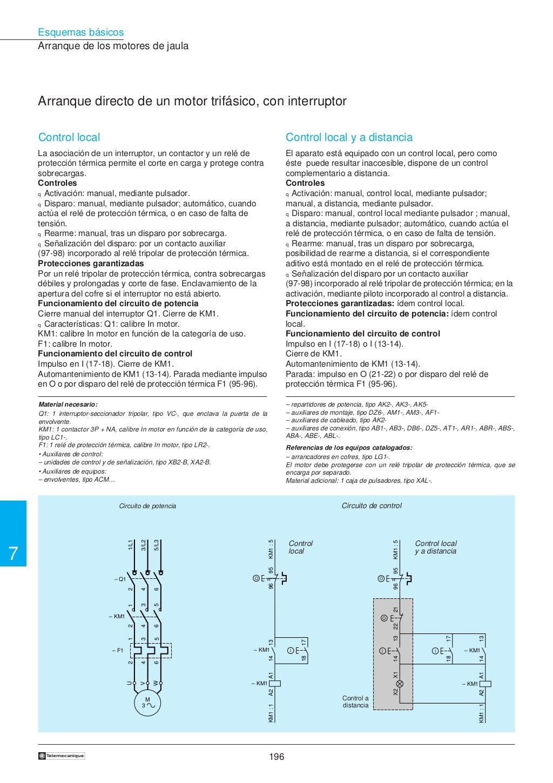 Manual electrotécnico -telesquemario telemecanique page 198