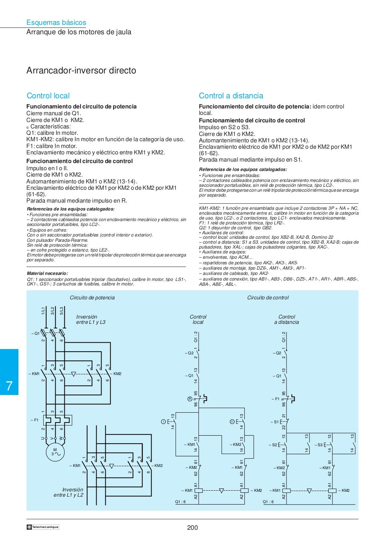 Manual electrotécnico -telesquemario telemecanique page 202