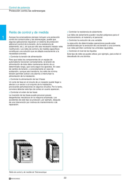 Manual electrotécnico -telesquemario telemecanique page 22