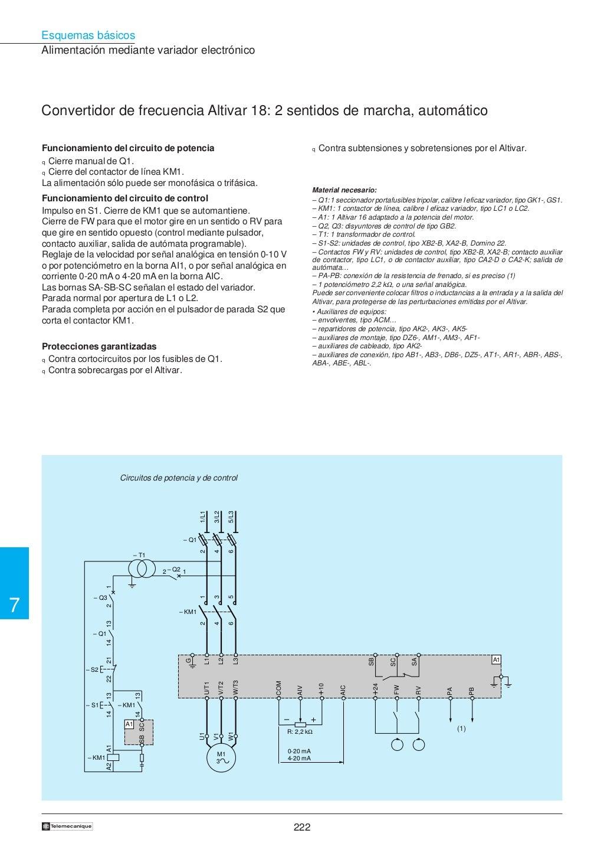 Manual electrotécnico -telesquemario telemecanique page 224