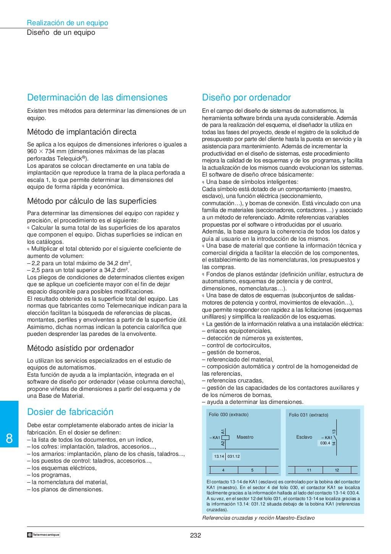 Manual electrotécnico -telesquemario telemecanique page 234
