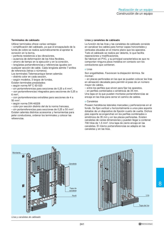 Manual electrotécnico -telesquemario telemecanique page 243