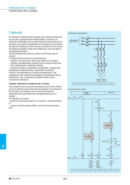 Manual electrotécnico -telesquemario telemecanique page 246
